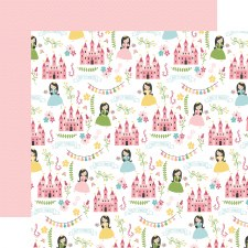 All Girl 12x12 Paper- Pretty Princess