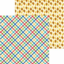 Bar-B-Cute 12x12 Paper - Primary Plaid
