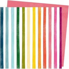 Amy Tangerine Slice of Life 12x12 Paper- Rainbow Hall