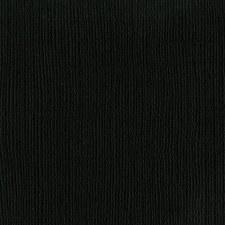 12x12 Black Textured Cardstock- Raven