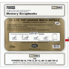 Pioneer 12x12 Page Refills- 5 pack