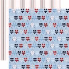 Deep Blue Sea 12x12 Paper- Seas the Day