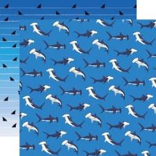 Fish are Friends 12x12 Paper- Shark Dance