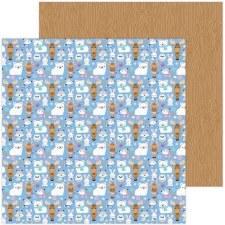 Winter Wonderland 12x12 Paper- Snow Cozy