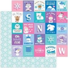 Winter Wonderland 12x12 Paper- Snow Much Fun