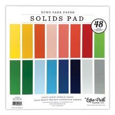 12x12 Solids Paper Pad, 48 Sheets- Summer