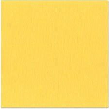 12x12 Yellow Textured Cardstock- Sunbeam