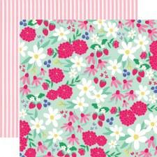 Best Summer Ever 12x12 Paper- Sunshine Floral