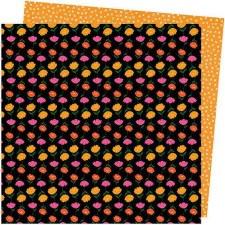 Amy Tangerine Slice of Life 12x12 Paper- Super Bloom