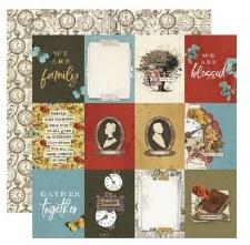 Ancestry 12x12 Paper- 3x4 Elements