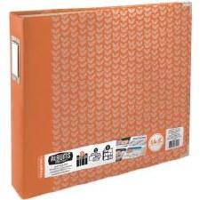 We R Memory Keepers D-Ring Album- Tangerine