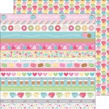 Cream & Sugar 12x12 Paper- Tea Time