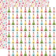 All Girl 12x12 Paper- Teepee Trails