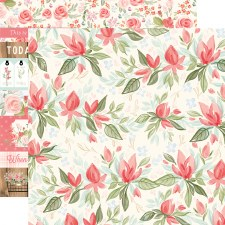 Farmhouse Market 12x12 Paper- Timeless Floral