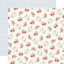 Farmhouse Market 12x12 Paper- Vintage Floral