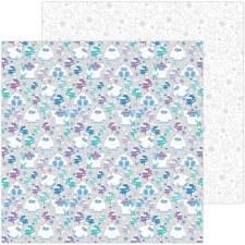 Winter Wonderland 12x12 Paper- Yeti for Winter