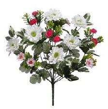 """Aster Mum Flower Bush, 13""""- Mixed"""