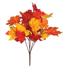 "14"" Fall Leaf Bush- Maple"