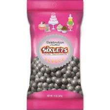 SweetWorks Celebration Sixlets 14oz- Silver