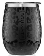 Uncork'd 14oz Wine Tumbler- Onyx Leopard