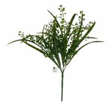 "15"" Mixed Mini Boxwood Grass Bush"