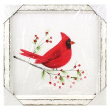 Cardinal Screen Print Sign