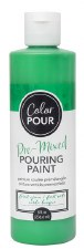 Color Pour Pre-Mixed Pouring Paint, 16oz- Forest Green