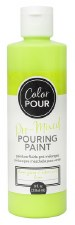 Color Pour Pre-Mixed Pouring Paint, 16oz- Lime Green