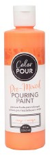 Color Pour Pre-Mixed Pouring Paint, 16oz- Orange