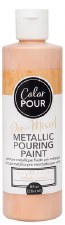 Color Pour Pre-Mixed Metallic Pouring Paint, 16oz- Rose Gold