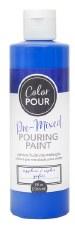 Color Pour Pre-Mixed Pouring Paint, 16oz- Sapphire