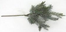 """17.5"""" Pine Spray w/ Glittered Snow"""