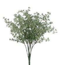 "Eucalyptus Seed Bush, 17""- Green/Gray"