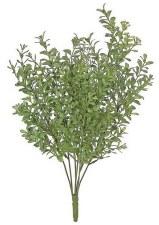 """Boxwood Bush, 17""""- Moss Green"""