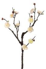 """Plum Blossom Spray, 18""""- Cream"""