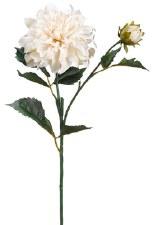 """Dahlia Spray, 19.5""""- Ivory"""