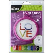 Bucilla My 1st Stitch Kit- Love