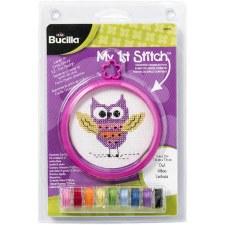Bucilla My 1st Stitch Kit- Owl
