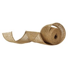 "Burlap Ribbon- 2.5""x10yd"