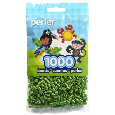 Perler Beads 1000 piece- Cucumber Stripe