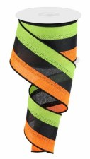 """2.5"""" x 10yd 3 Color 3 in 1 Ribbon"""