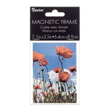 """Clear Acrylic Magnetic Frame, 2.5"""" x 3.5"""""""