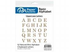 "2"" Basic Uppercase Chipboard Alphabet"