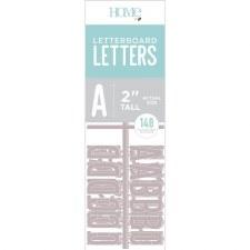 "DCWV Letterboard 2"" Letters- Gray"
