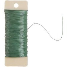Wire, 20 Gauge- Green