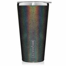 Imperial Pint 20oz Tumbler- Glitter Charcoal