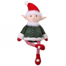 Workshop Toy Plush Sitting Elf- 21""
