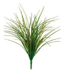 "Grass Bush, 21""- Green/Red"