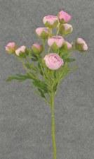 "Ranunculus (Mini) Flower Spray, 22""- Pink"