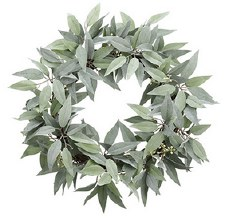 """Wreath- Eucalpytus, 22"""""""